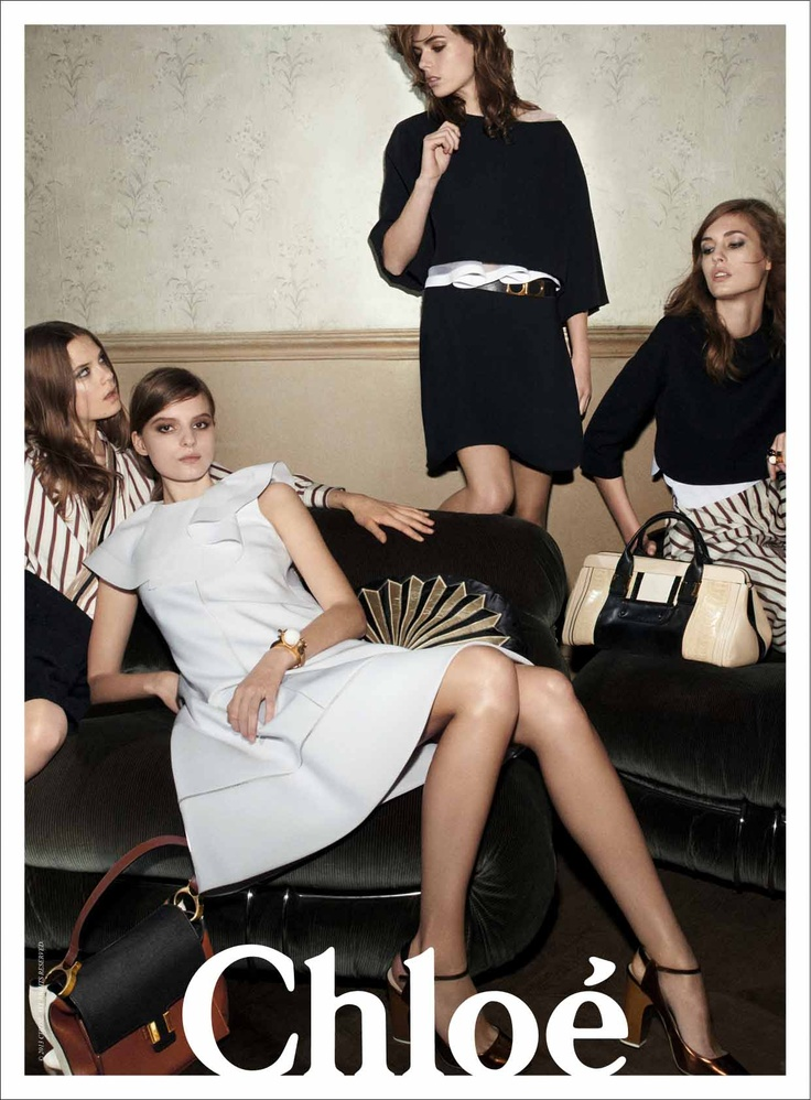 Chloe Spring/Summer 2013 ad campaign...what's there not to love? Exquisite.