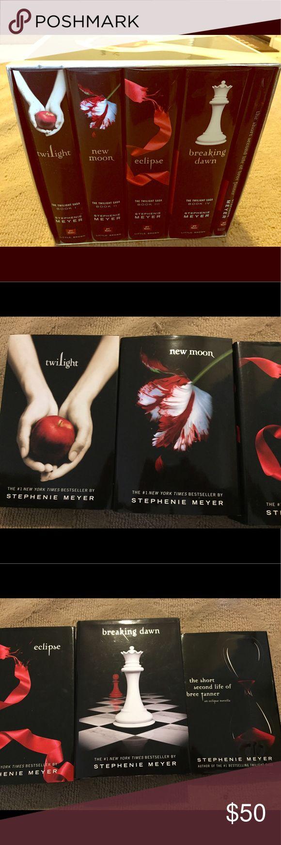 The Twilight Saga Hardcover 5 Books Limited Ed
