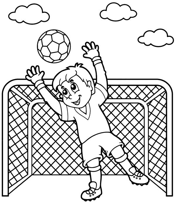 17+ Blank soccer ball coloring page download HD