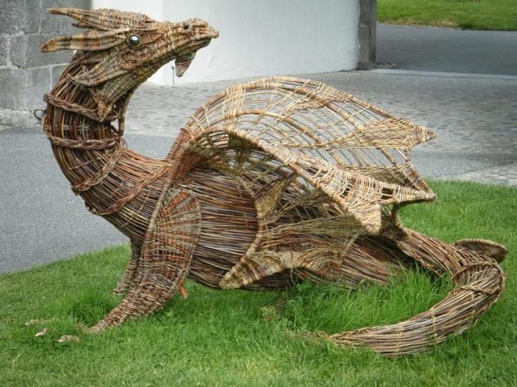 The missing Irish Wicker Dragon has returned