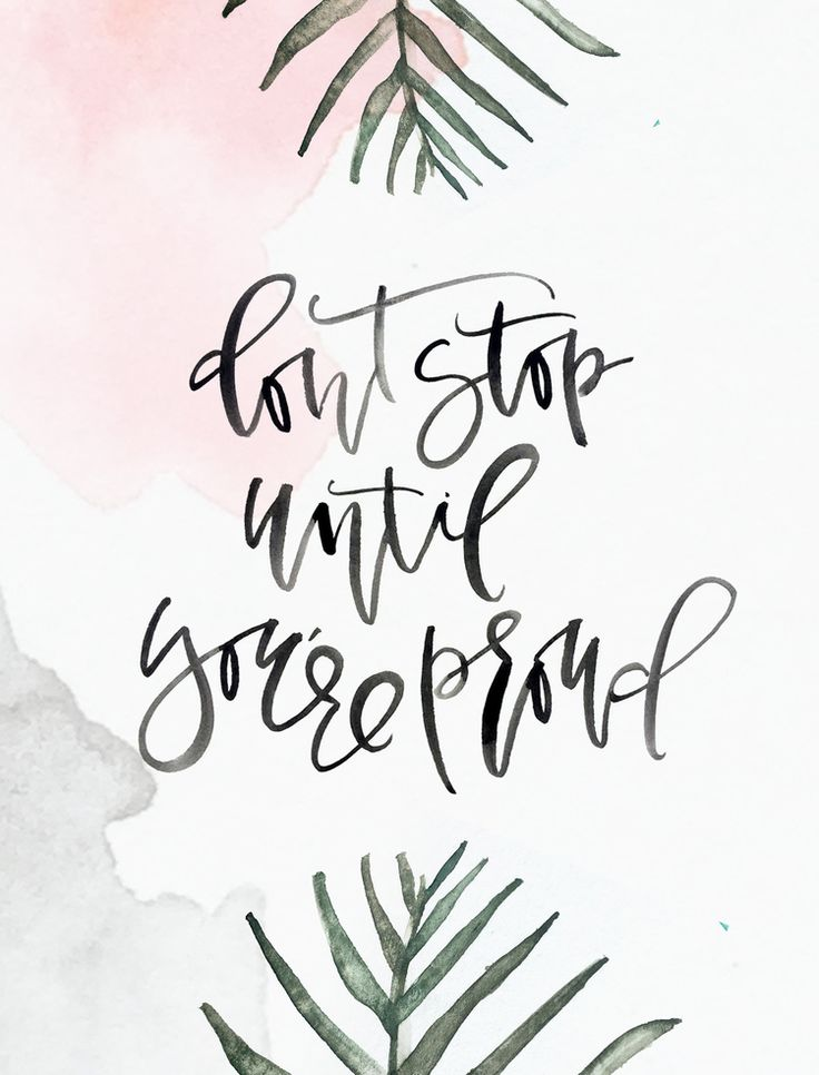 best 25 watercolor quote ideas