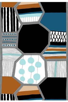 marimekko : Taapeli cotton fabric