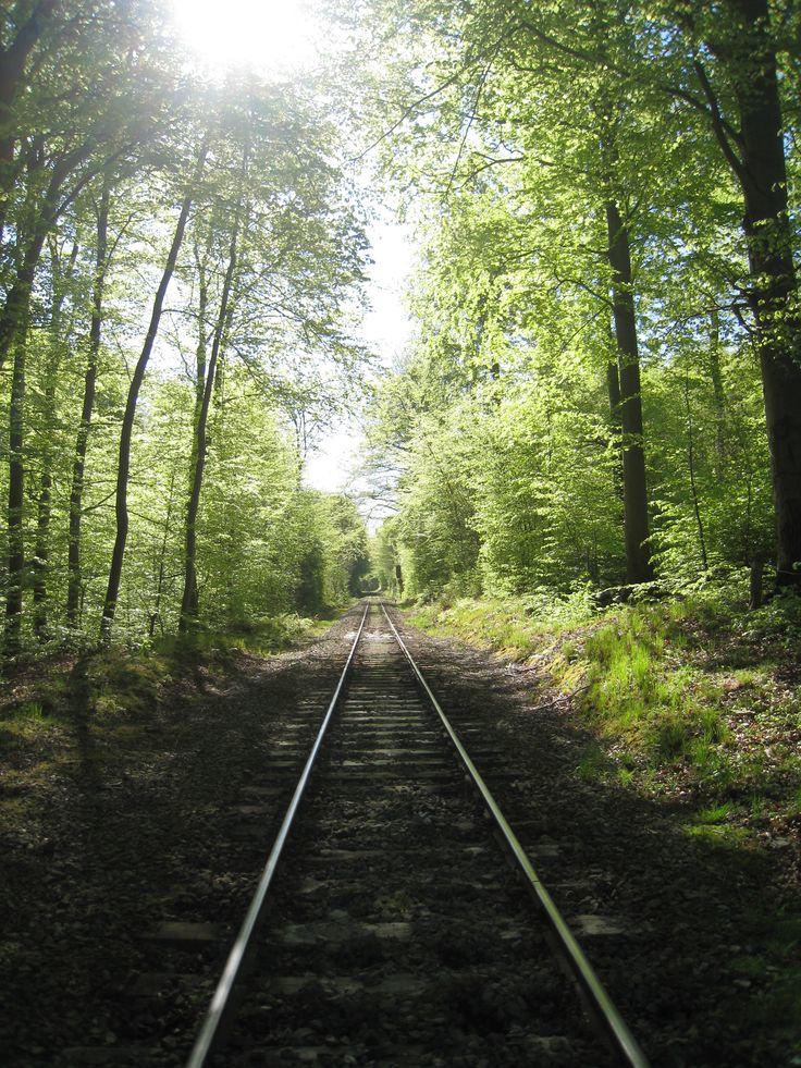 Min jernbanestrækning i Hellebæk