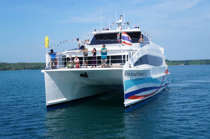 Boonsiri Catamaran from Laem Sok to Koh Mak (Ao Nid Pier) takes about 50 minutes and cost 600 Baht. Recommend when the weather is rough.