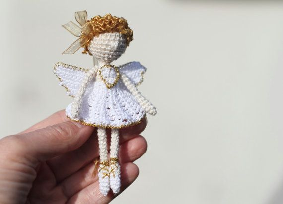 RESERVIERT für SHONETTE häkeln Engel von FancyKnittles auf Etsy