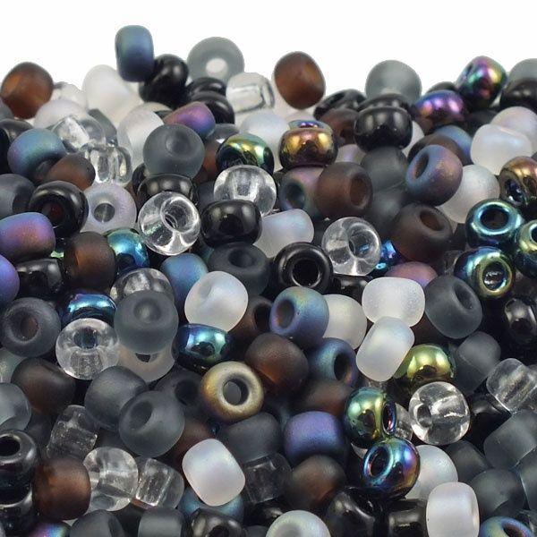 6/0 Miyuki Seed Beads Mix - Pebblestone - The Bead Shop for £1