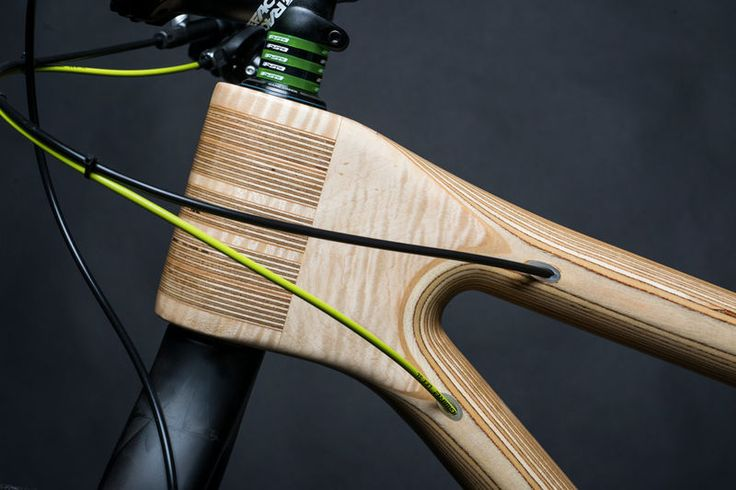 wooden frame - Bike manufacturer Grainworks has incorporated eco-friendliness into its new line of bicycles by outfitting them with wooden frames. These innovativ...