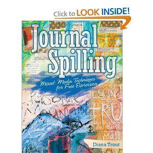 My first art journaling book, but soooo not my last.