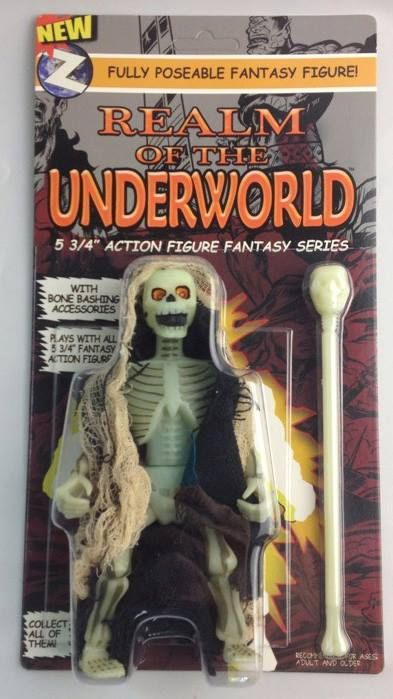 Archterrus action figure Glow in the Dark - 2 variant styles. www.underworldfigures.com