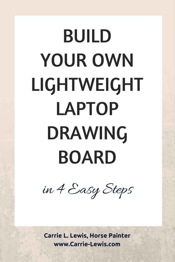 build-lightweight-laptop-drawing-board