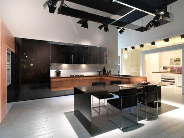 Stunning  Contemporary L Shaped Kitchen Layout Ideas
