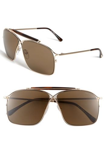 Sunglasses On Sale in Outlet, Brown, 2017, one size Tom Ford