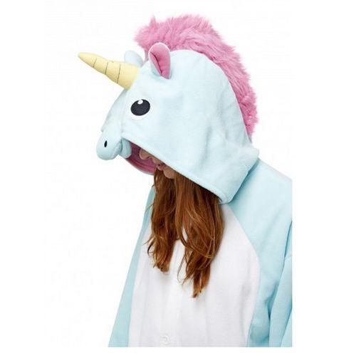 Combinaison animaux pyjama kigurumi grenouillère LICORNE ROSE BLEU CHAT adulte ado Taille S M L XL pour déguisement détente FESTIVAL CARNAVAL #Onesie