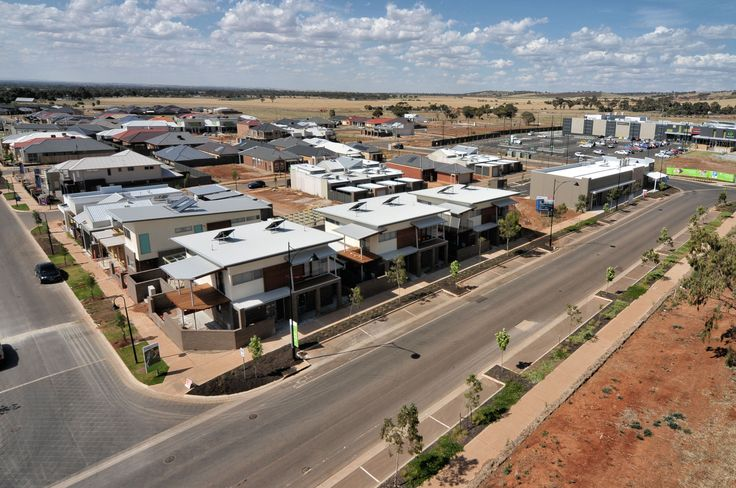 A sample Community Social Housing Project at Blakes Crossing that challenges the traditional government & affordable housing type.