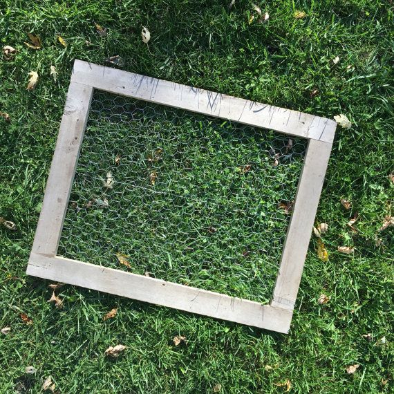 Get organized with these large farmhouse-style frames, handmade from salvaged Wisconsin barn board. Use as memo board, photo collage, jewelry holder, card display, or to dry fresh herbs or flowers! The knots and general wear in the wood varies from piece to piece, meaning that your
