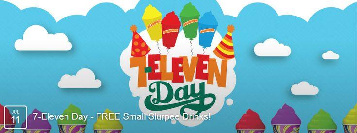 Park Art|My WordPress Blog_Free Slurpee Day At 7 Eleven