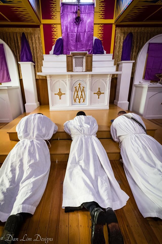 Latin Mass Chaplaincy, Christchurch   Not in sequence, here are the Good Friday devotions.