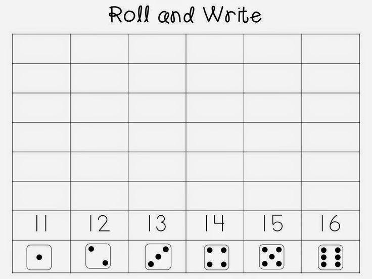 Kindergarten is Grrreat!: Daily 3 Math - Math Writing: Unit 2 - Teen Numbers