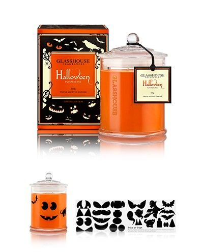 Limited Edition Pumpkin Pie Halloween Candle by Glasshouse Fragrances