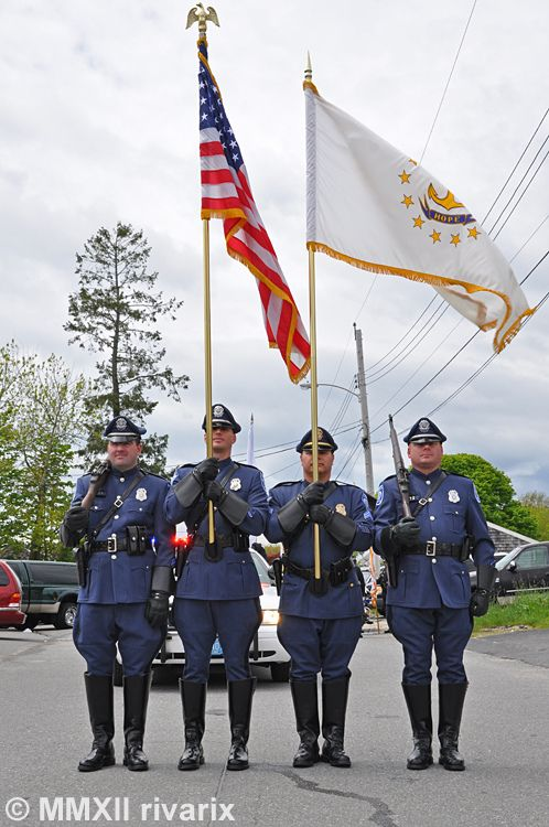 https://flic.kr/p/ccJQAu | 167 National Police Parade - South Kingstown Police | At the starting line right before the start of their march.
