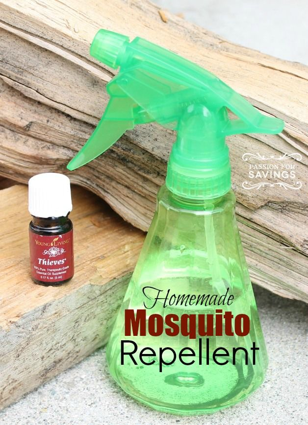 Homemade Mosquito Repellent! All Natural DIY Bug Spray that is safe and kid friendly!