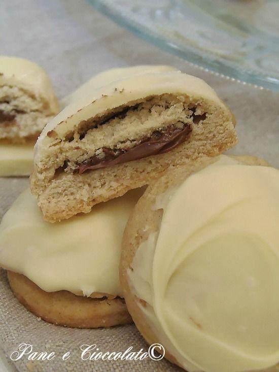 Biscotti Cremosi al Cioccolato Bianco e Nutella