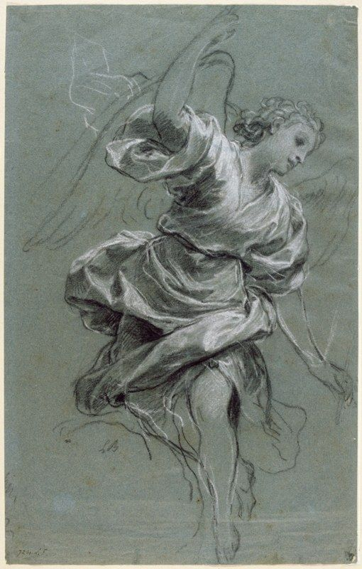 beside the easel: More Old Master Drawings