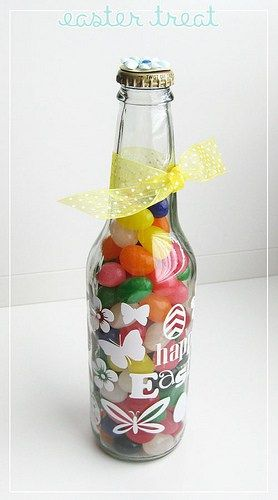 Easter treat bottle | Finding Time To Create