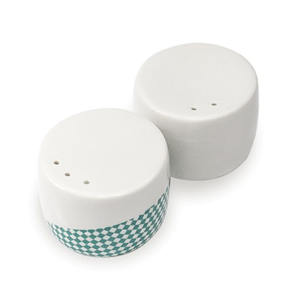 SINGLE SET - salt and pepper shakers - Mopsdesign  Porcelain egg cup, element of SINGLE SET collection.