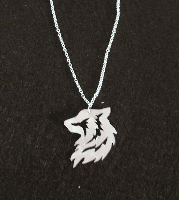 Tribal Wolf Necklace by BonBonBotique on Etsy, $12.00