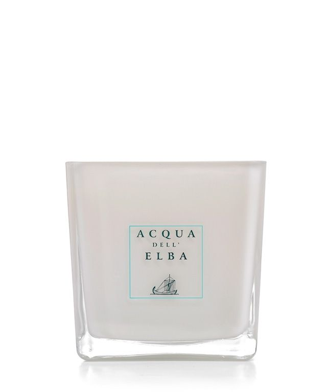 Acqua Dell'Elba Mare scented candle will have any room in your home smelling like the Mediterranean sea.