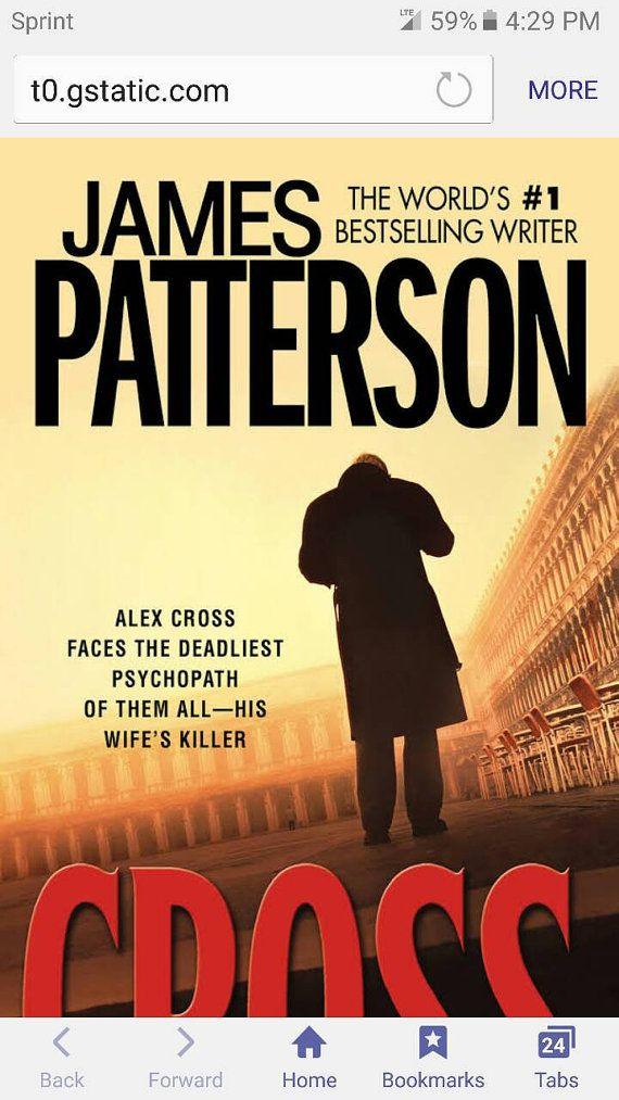 Check out this item in my Etsy shop https://www.etsy.com/listing/490863173/cross-by-james-patterson-fehc-mystery