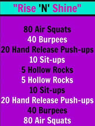 15-minute Travel WOD #CrossFit - you can do this workout anywhere! #fitfluential