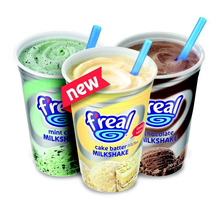 FREE F'Real Milkshake...