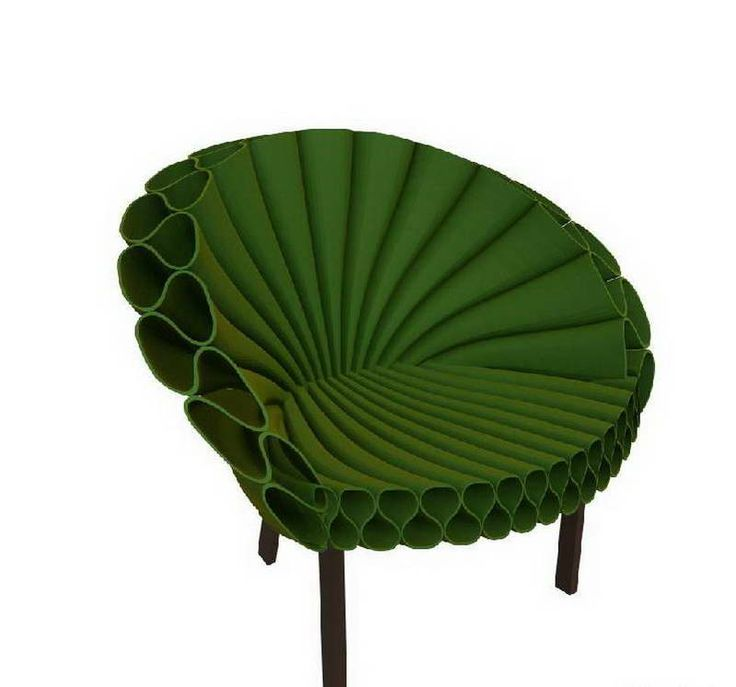 Cappellini Peacock Chair Design With Green Color Modern Armchair: The  Cappellini Peacock Chair