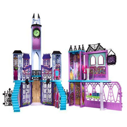 Monster High Deluxe High School Dollhouse Playset Girls Castle 4FT Tall, NEW #Mattel #House #monsterhigh #ebay