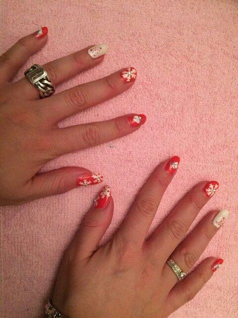 Christmas nail art # Sensationailz