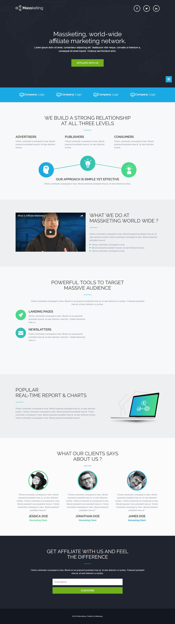 83 best landing pages templates images on pinterest