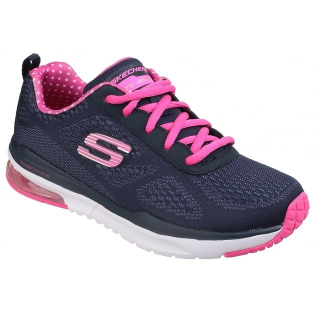 Skech-Air: Infinity Navy/Pink