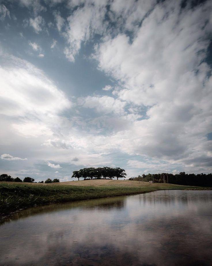 A taste of the sky.  #skogskyrkogården #stockholm #sweden #Fujifilm_XSeries