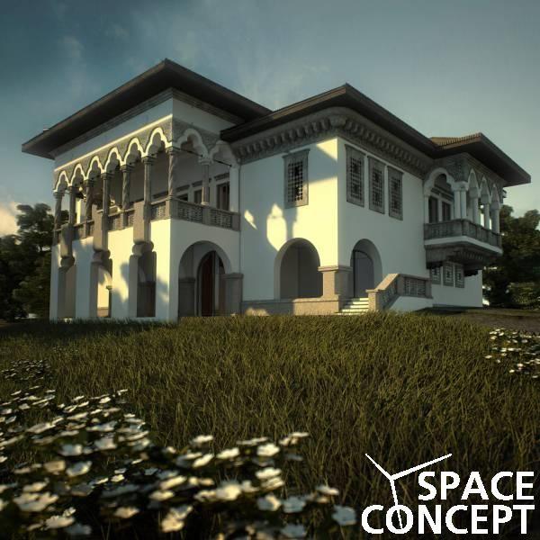 proiect casa arhitectura clasica neoromaneasca space