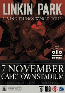 Linkin Park 2012 SA