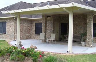 metal patio cover