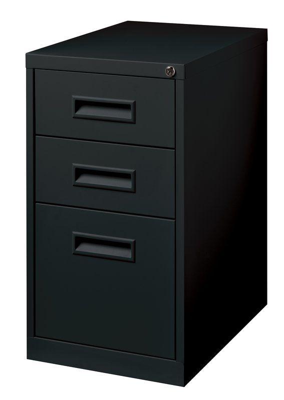 3 Drawer Mobile Vertical Filing Cabinet Filing Cabinet File