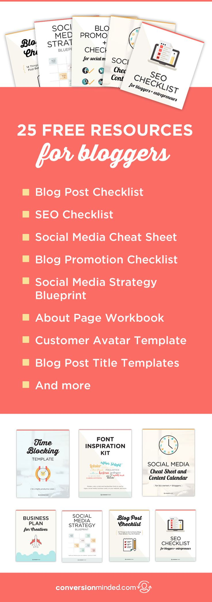 25 Free Blogging Resources & Tools   Worksheets, templates, checklists, and planners to help you amplify your growth and earn a full-time living as quickly as possible. blogging resources and tips #blogging #blogger