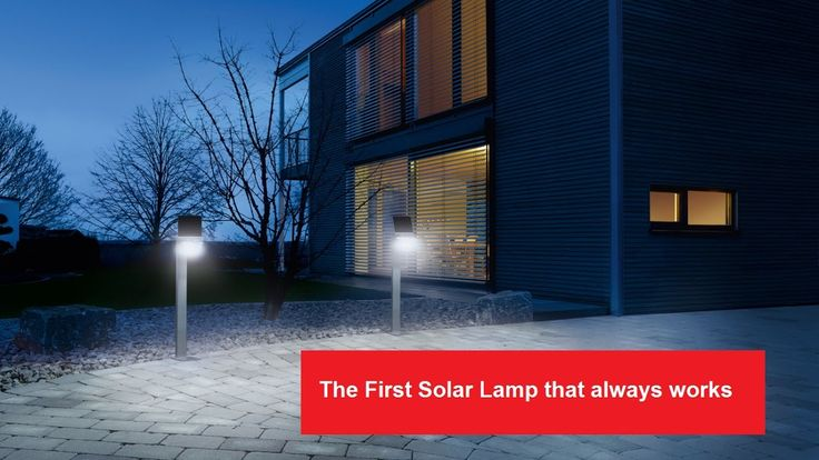 Solar Sensor LED Lights From Steinel Germany
