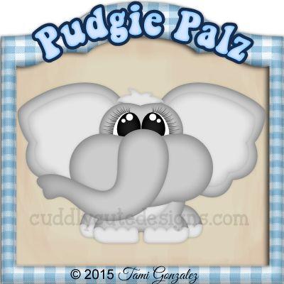 Pudgie Palz-Elephant