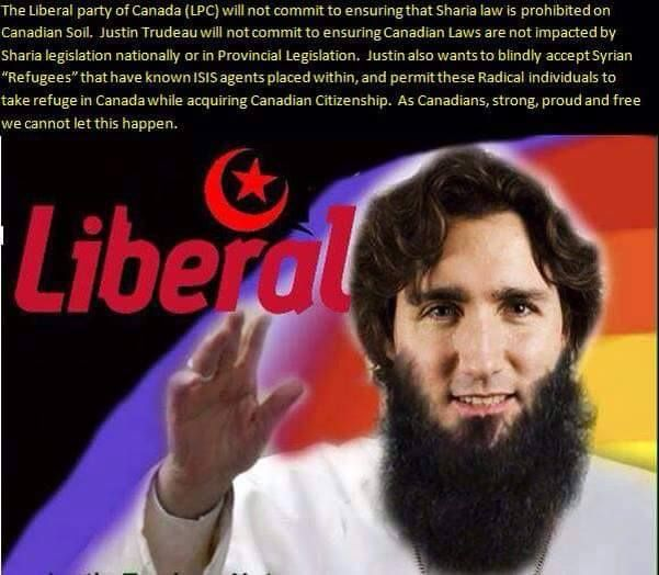 HI EVERYONE! MY NAME IS SHITHEAD ALLAH AKBAR TRUDEAU. I COME TO MESS YOUR COUNTRY UP. I AM A HYPOCRIT TO MY PPL.