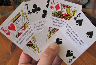 Character - It's in the Cards! See how to use a deck of cards to teach character skills.