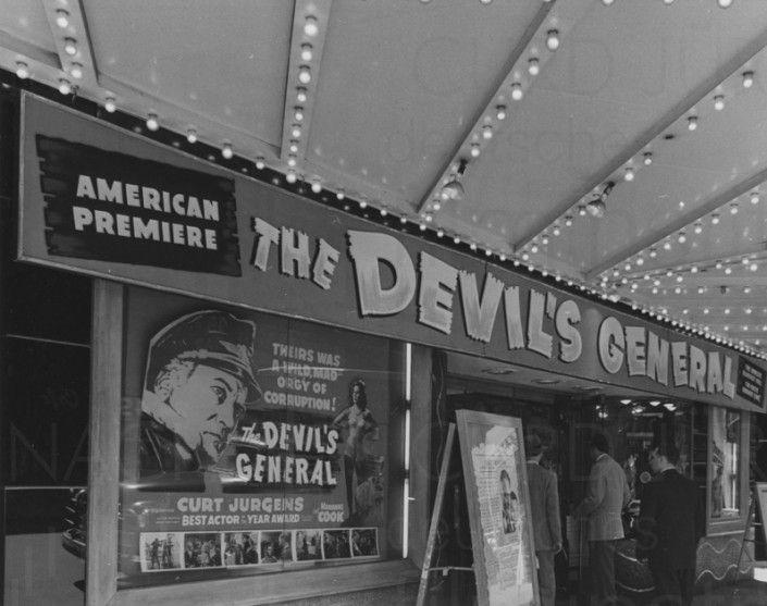 DES TEUFELS GENERAL (1955) Werbekampagne US-release, 6